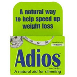 Adios Herbal Slimming Tablets Help To Speed Up Weight Loss